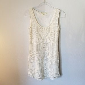 UO Staring at Stars White Lace Top 2 (NWOT)